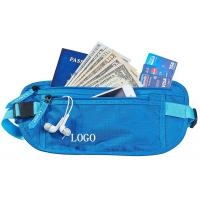 China Small RFID Ladies Money Belt , Waterproof Money Bag With Adjustable Belt wholesale