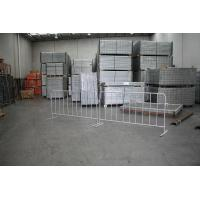 Wholesale Metal Crowd Control Barrier / Galvanized 1.1m x 2.1m Pedestrian Barriers Panels from china suppliers