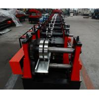 Quality Automatic Purlin Roll Former , Pre - Cutter Adjusted C Purlin Machine Export to Saudi Arab for sale