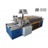 China Double Line Furring Channel Roll Forming Machine PLC Control For Construction on sale