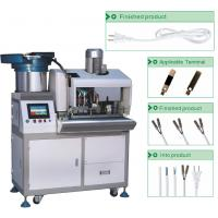 Buy cheap Advanced Electric PVC Wire Cutting Stripping And Single Terminal Crimping  Machine (SD-3000AS) from wholesalers