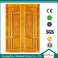 China PVC wooden interior door Yellow Wooden Door For Room/Hotel/Villa In High Quality on sale