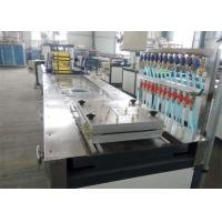 China PVC WPC Construction Template Extruding Machine / WPC Board Production Line / PVC WPC Foam Board Machinery wholesale