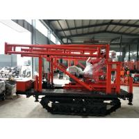 China 150 Meter 220V Gear Shift Track Mounted Drill Rig wholesale
