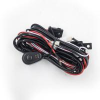 China 2.5 Meter Automotive LED light bar Wiring Harness with Connector Remote Controller Switch Control for car wholesale