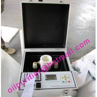 China Transformer Oil Tester for Dielectric Strength breakdown voltage, Insulation Oil Tester Kit, Oil Testing Device on sale