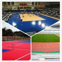 China 3W outdoor basketball court / suspend interlocking / pvc floor wholesale