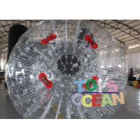 China Customized PVC Vinyl Tarpaulin Inflatable Walking Ball / Soccer Zorb Ball For Adults wholesale