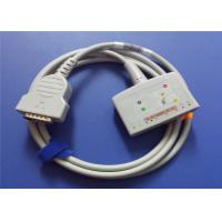 China GE Marquette 22341809 Ecg EKG Cable With 10 Lead Wires MAC500 / 1100 Model wholesale