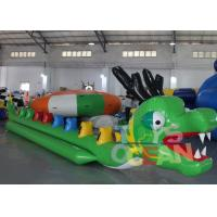 China Long PVC Inflatable Dragon Boat Inflatable Sport Games For Adults CE Approval wholesale
