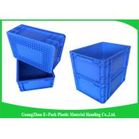 China 400*300mm Mini Load Industrial Plastic Containers , Standard Euro Storage Boxes wholesale
