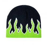 China Fashion Brand Autumn Winter Unisex Fire Design Trend Hip Hop Knitted Soft Wear wholesale