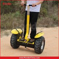 Quality CE FCC ROHS 2 Wheel Electric Stand Up Scooter E Scooters Speed Control 1200W for sale