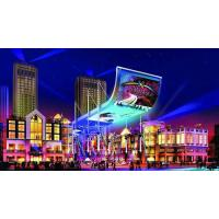 China 180 / 360 Degree Front Service LED Display Foldable With Hanging Stacking / Attaching wholesale