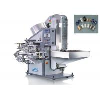 China Auto Hot Foil Stamping Machine 25mm - 60mm Length Lid For Soft Tube Plastic Caps wholesale