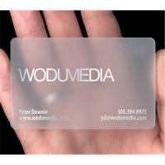 China Business card/transparent card wholesale