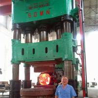 China Fully automatic modern hot forging stretching press machine for big open die forging 3150T on sale