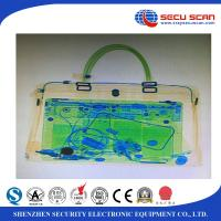 China Secu Scan Big Size Luggage X Ray Machines Penetration 34mm Steel wholesale