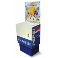 China PEPSI Cardboard dump bin Display Stand for Retail wholesale