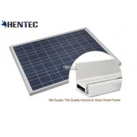 China CA And CE Aluminum Solar Panel Frame 6063-T5 With Oxidized / Anodizing wholesale