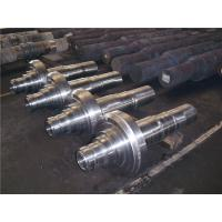 China Power Equipment Turbine Shafts , Precision Carbon Steel Forged Steel Shaft ISO 9001 - 2008 on sale