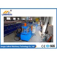 China Siemens PLC Control Channel Roll Forming Machine 15 Meter Per Minute Production Speed wholesale