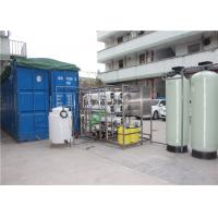 China Automated Seawater Desalination Equipment Pure Water Machine With High Pressure Pump wholesale