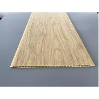 China 7.5mm Thick Corrosion Resistant PVC Wood Panels for Ceiling / Wall Cladding wholesale