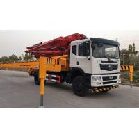 China 38m Truck Mounted Concrete Mixer Pump Truck Dongfeng Brand With Hydraulic Pump on sale