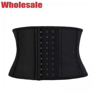 China 9 Steel Bone Waist Trainer Hollow Out Corset Shapewear Customized wholesale