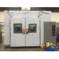 China Laboratory Double Door Air - Cooled 15L Walk In Test Chamber With Lighting Device wholesale