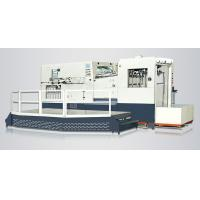 Fast Cardboard Die Cutting Machine , 19.5KW Commercial Die Cutting Machine