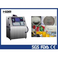 China Industrial CIJ Automatic Inkjet Coding Machine 4 Lines For Small Round Bottle wholesale