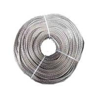 China 5mm X 100m 12 Splicing Dyneema Core Rope , 12 Weaves Gray Dynamax Rope wholesale