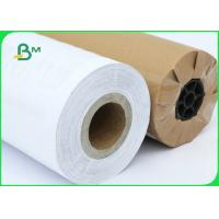China FSC Certified 70gsm 80gsm CAD Inkjet Plotter Paper Roll Size A1 A0 For Drawing wholesale