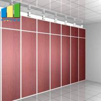 Buy cheap Office Decoration Movable Partition Wood Folding Partition Walls for Conference from wholesalers