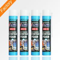 China china 750ml 500ml low temperature insulation expanding pu spray  foam on sale