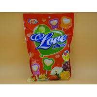 China Heart Shape Lollipop Healthy Hard Candy / Carb Free Low Calorie Candy For Girl wholesale