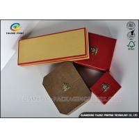 China Colorful Cover Jewelry Gift Boxes Recyclable Friendly Plastic Embossing Printing Handling wholesale