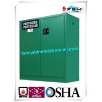 China Safety Hazardous Storage Cabinets , Hazmat Storage Locker For Agriculture Pesticide on sale