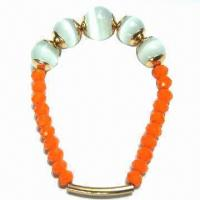 2013 Spring and Summer Stretchable Style Bracelet, Made of Opal