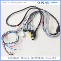 China Waterproof Camera Monitor Cable , Rear View Camera Cable 20 Pin 1 Male To 4 Female Connector wholesale