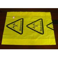 China Polyethylene Plastic Heat  Sealing Biohazard Bags meet FDA and EU standard wholesale
