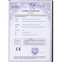 WINTEC ELECTRONIC TECH CO., LIMITED Certifications