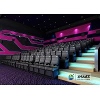 China Exciting 4D Movie Theater With Circular Screen , 4D Theater System wholesale