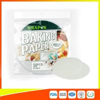 "China Silicone 8 "" Kitchen Non Stick Baking Sheet / Parchment Paper For Cooking wholesale"