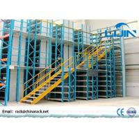 Workshop Rack Supported Mezzanine Floor With Walkways Multi Layer