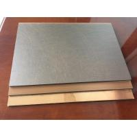 China Anti - Bacterial Copper Composite Panel Waterproof With High Peeling Strength wholesale