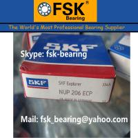 China Low Noise Single Row Cylindrical Roller Bearings SKF Bearings NUP206ECP wholesale