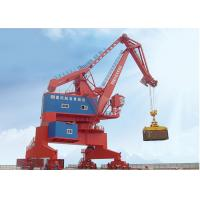 China Pedestal Mounted Port Gantry Crane For Container Lifting , Yard Gantry Crane wholesale